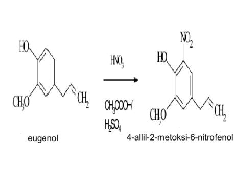 nitrasi eugenol